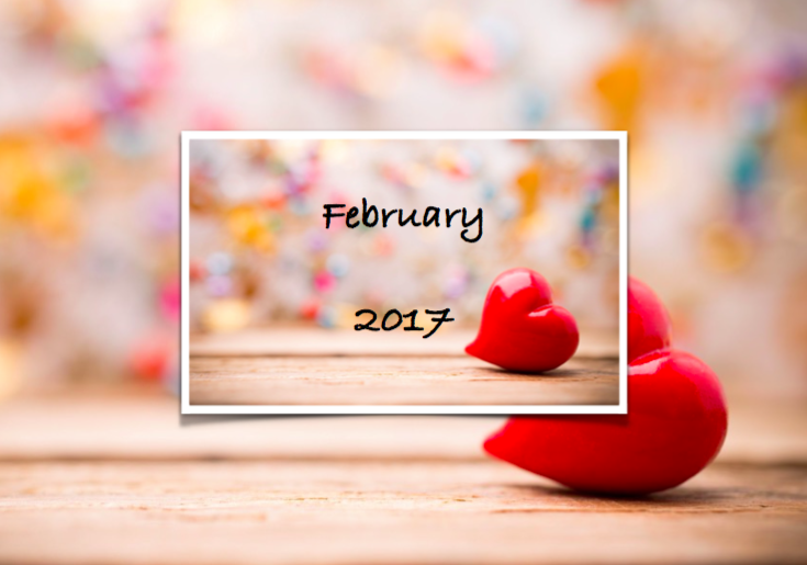 Happiness Calendar – February the month of Love