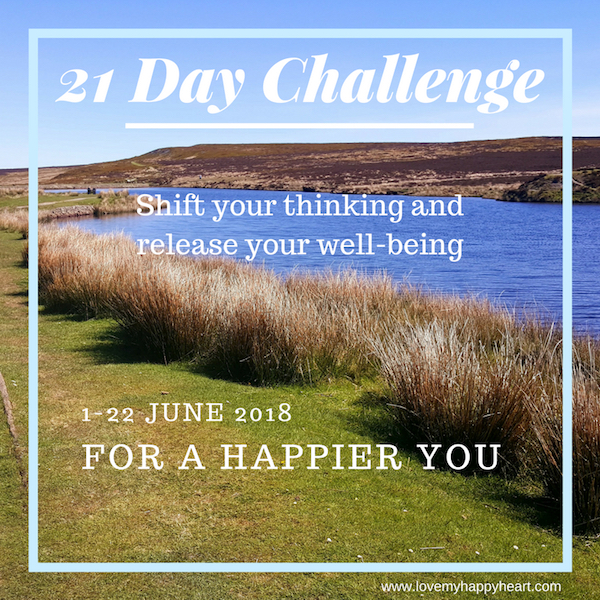 21 Day Challenge – Shift your Thinking, Release your Well-being