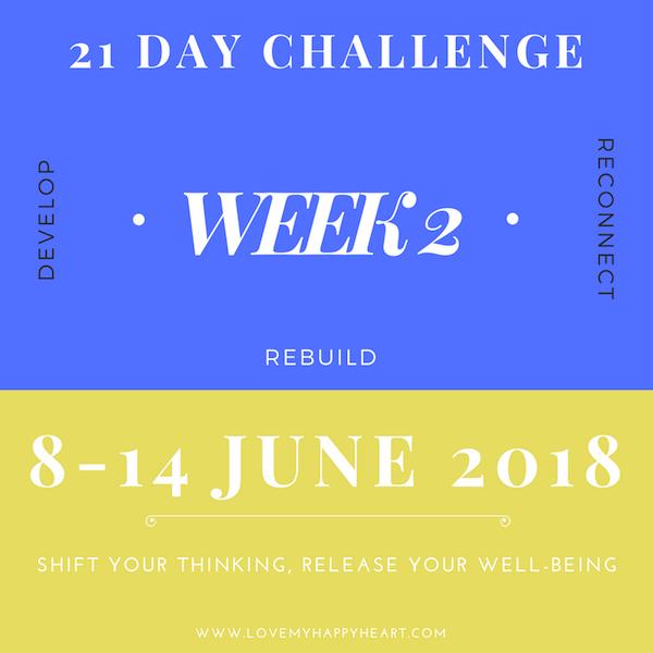 21 Day Challenge – Week 2